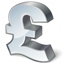 Symbol Pound Icon 128x128