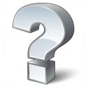 Symbol Questionmark Icon 128x128