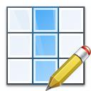Table Column Edit Icon 128x128