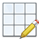 Table Edit Icon 128x128