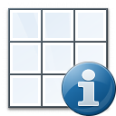 Table Information Icon 128x128