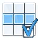 Table Row Preferences Icon 128x128
