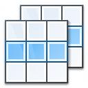 Tables Row Icon 128x128