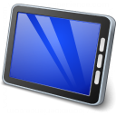 Tablet Computer Icon 128x128