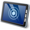 Tablet Computer Touch Icon 128x128