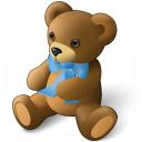 Teddy Bear Icon 128x128