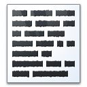 Text Icon 128x128