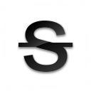 Text Strikethrough Icon 128x128