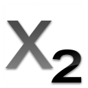 Text Subscript Icon 128x128