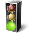 Trafficlight Green Icon 128x128