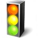 Trafficlight On Icon 128x128