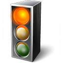 Trafficlight Red Icon 128x128