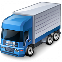Truck Blue Icon 128x128