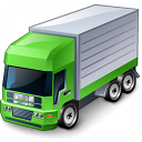 Truck Green Icon 128x128
