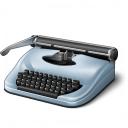 Typewriter Icon 128x128