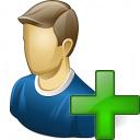 User Add Icon 128x128
