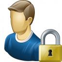 User Lock Icon 128x128