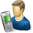 User Mobilephone Icon 128x128