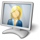 Video Chat 2 Icon 128x128