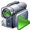 Videocamera Run Icon 128x128
