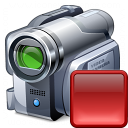 Videocamera Stop Icon 128x128