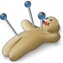 Voodoo Doll Icon 128x128