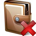 Wallet Closed Delete Icon 128x128