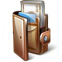 Wallet Open Icon 128x128