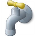 Water Tap Icon 128x128