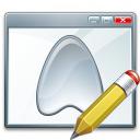 Window Application Edit Icon 128x128