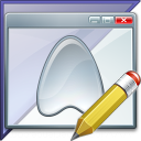 Window Application Enterprise Edit Icon 128x128
