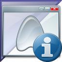 Window Application Enterprise Information Icon 128x128
