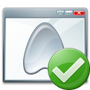 Window Application Ok Icon 128x128