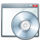 Window Cd Icon 128x128