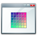 Window Colors Icon 128x128