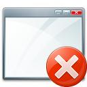 Window Error Icon 128x128