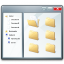 Window Explorer Icon 128x128