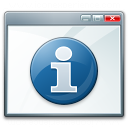Window Information Icon 128x128