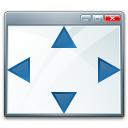 Window Size Icon 128x128