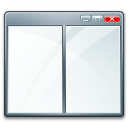 Window Split Hor Icon 128x128