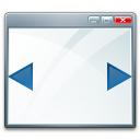 Window Width Icon 128x128
