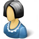 Woman Icon 128x128