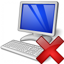 Workplace Delete Icon 128x128