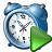 Alarmclock Run Icon