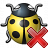 Bug Yellow Delete Icon