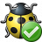 Bug Yellow Ok Icon