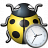 Bug Yellow Time Icon