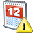 Calendar Warning Icon