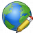 Earth Edit Icon