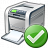 Printer Ok Icon